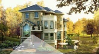 Применение датчика движения на придомовой территории