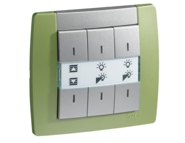 Механический выключатель с сенсорным диммером