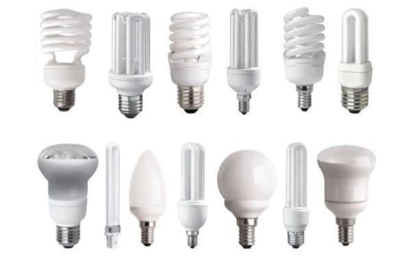 Разняе энергосберегающие лампочки