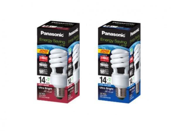 Лампочки Panasonic энергосберегающего типа