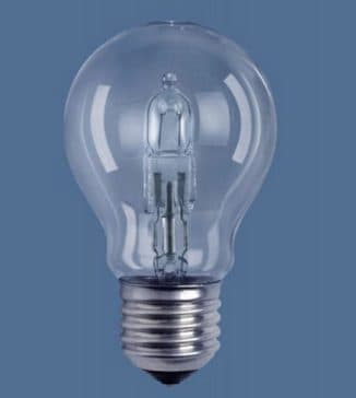 Лампа с колбой