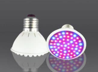 LED лампа для подсветки рассады