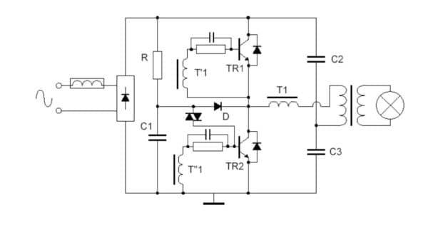 Подключение ламп с трансформаторами (фото)