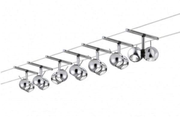 Светильники на тросах Горизонтальная система на тросах от PAULMANN