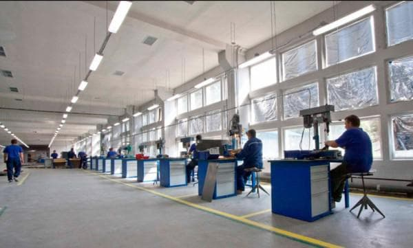 Правильное освещение для производственных помещений