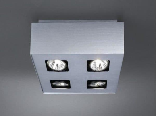 Квадратная потолочная люстра для прихожей