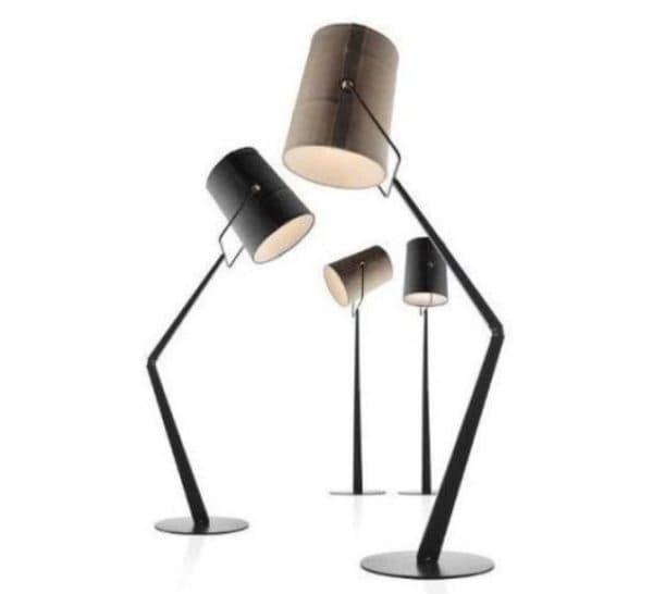 Напольные светильники в индустриальном стиле