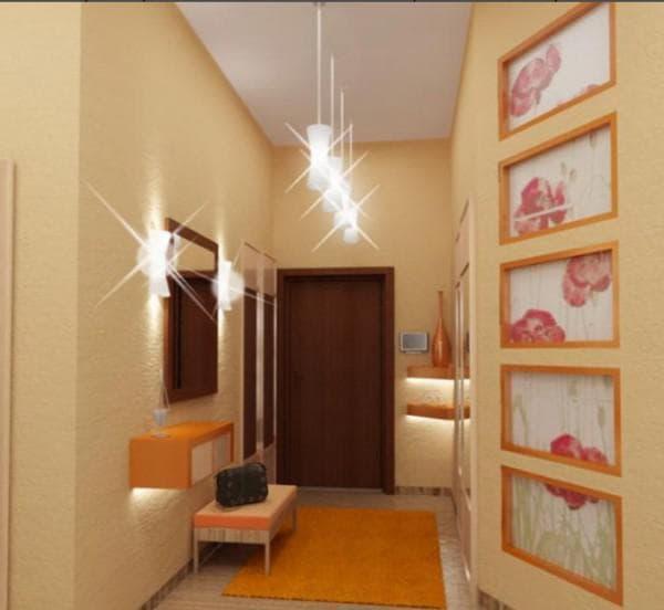 Потолочное освещение при помощи трековых систем (фото)