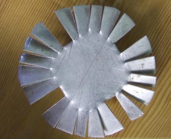 Радиатор из алюминия своими руками