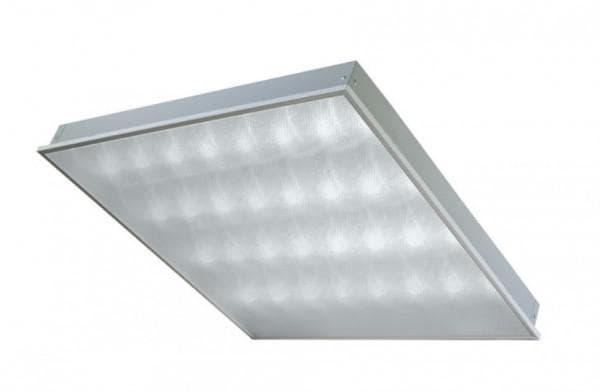 Светильник потолочный с призматическим стеклом