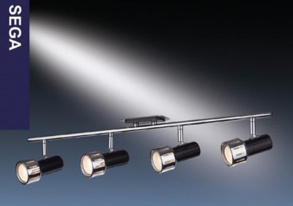 Потолочные светильники на штанге