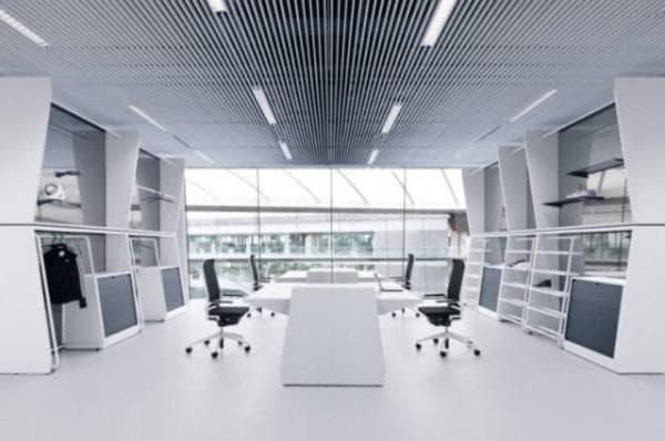 Освещение офиса светодиодными лампами