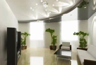 Правильное размещение светильников в натяжном потолке