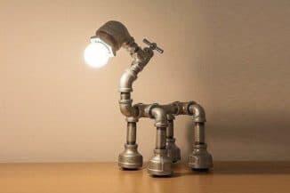 Настольные лампы в стиле стимпанк