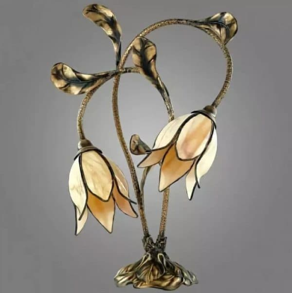 Настольная лампа в стиле тиффани Kemar KARKARA
