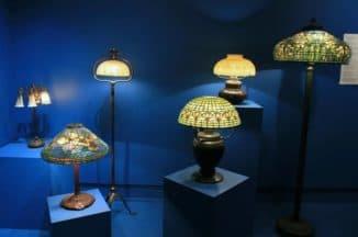 Настольные лампы ы стиле тиффани