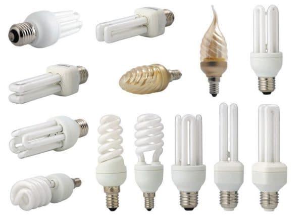 Лампы, экономящие электроэнергию
