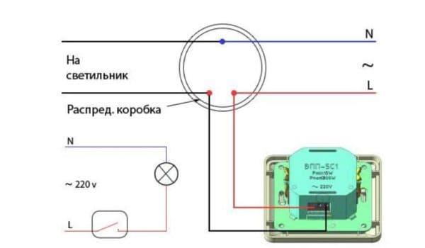 Диммер для ламп накаливания (схема)