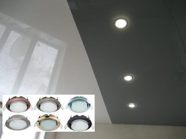 Популярная марка светильников для натяжных потолков - Ecola