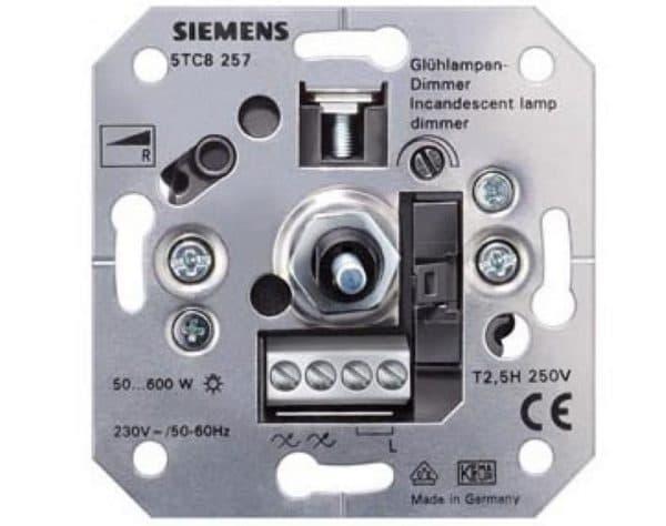 Диммер для ламп накаливания Siemens