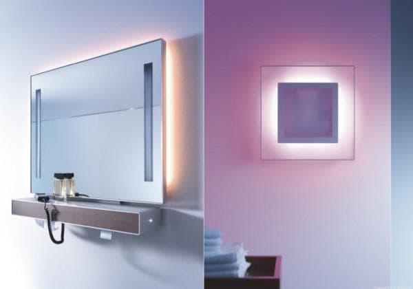 Влагостойкие светильники в ванной