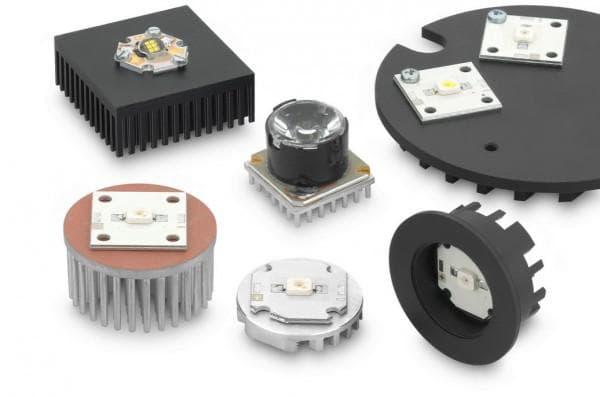 Игольчитые радиаторы для светодиодов