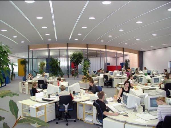 Правильный свет в офисе