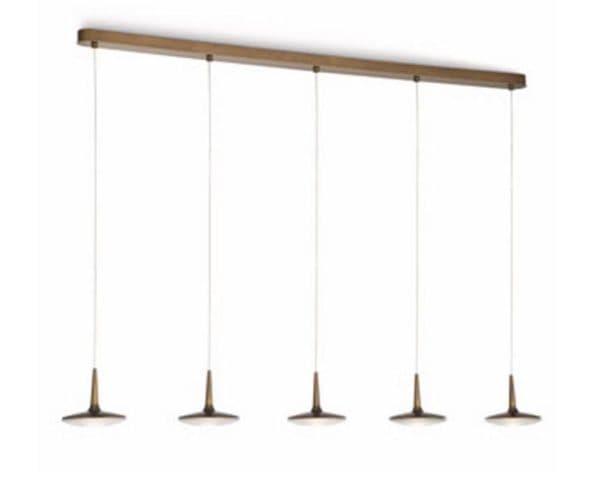 Светильник подвесной 5 плафонов