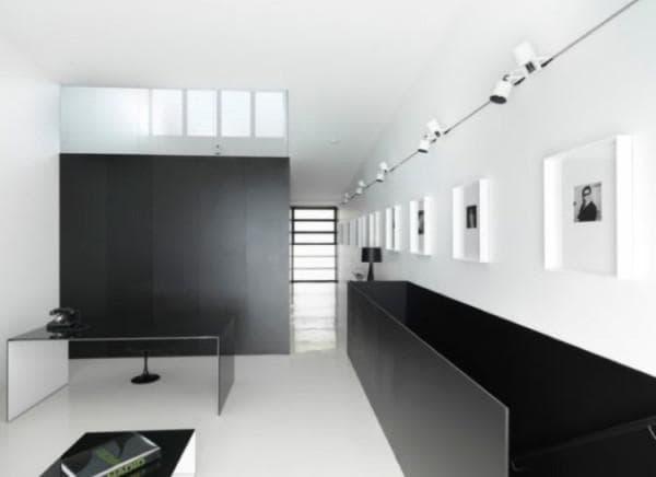 Трековые системе для стиля минимализм в интерьере