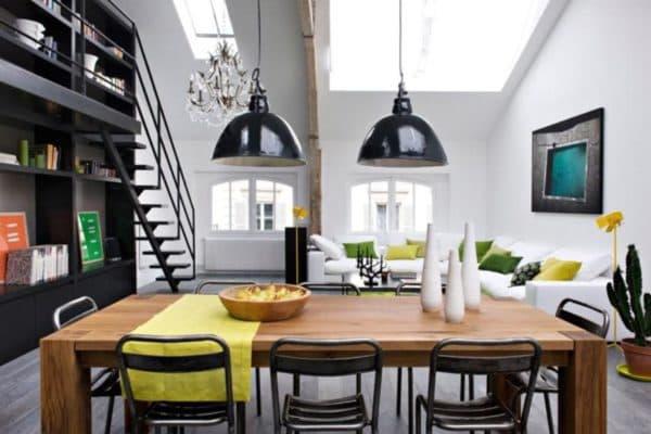Осветительные приборы лофт для кухни