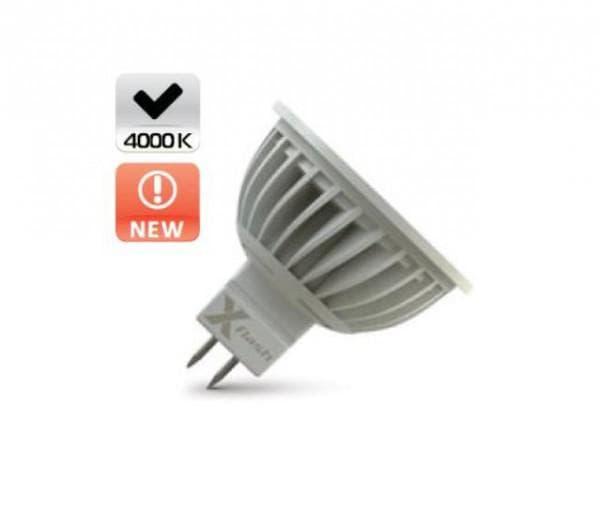 Ребристый радиатор на LED-лампе