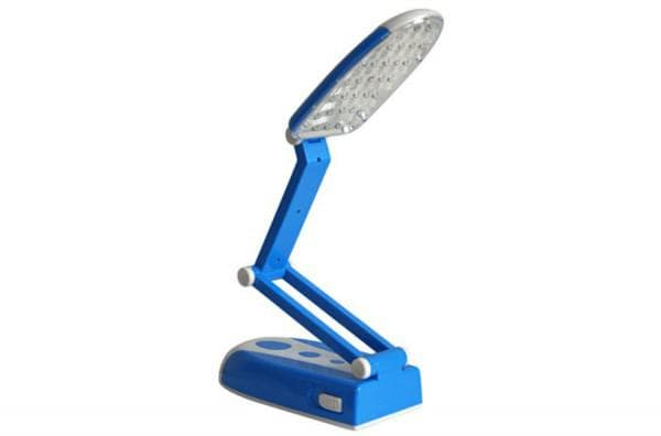 Светодиодная настольная лампа с аккумулятором