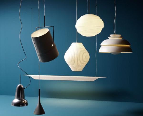 Варианты модных подвесных ламп