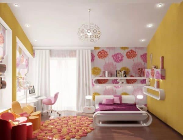 Люстра для комнаты девочки